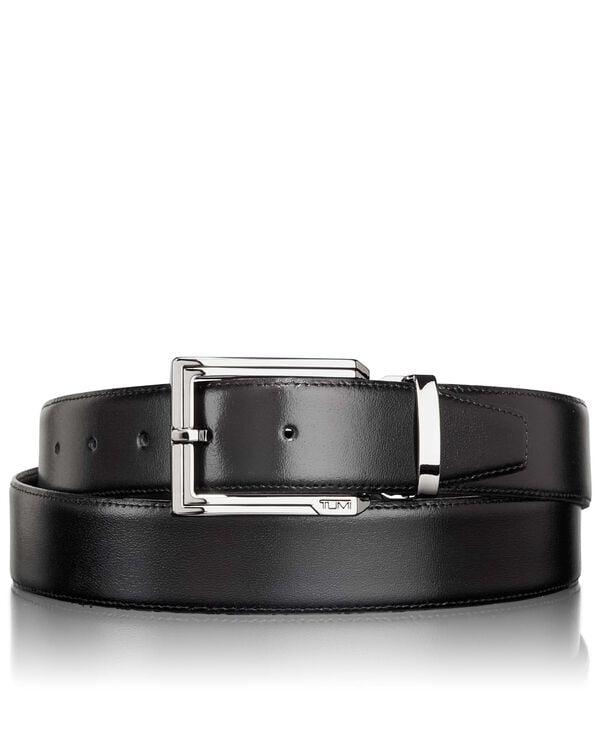 Belts Dwustronny skórzany pas OS