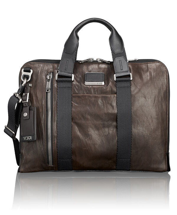 Alpha Bravo Aviano Slim Leather Brief