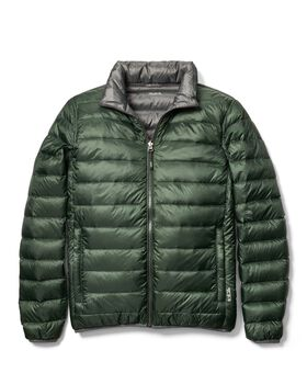Patrol Reversible Packable Travel Puffer Jacket M Tumi PAX Outerwear