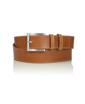 Double Keeper Leather Belt Belts