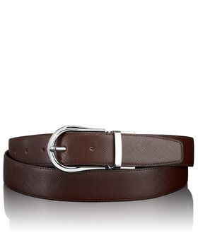 "Saffiano Horseshoe Reversible Belt 44"" Belts"