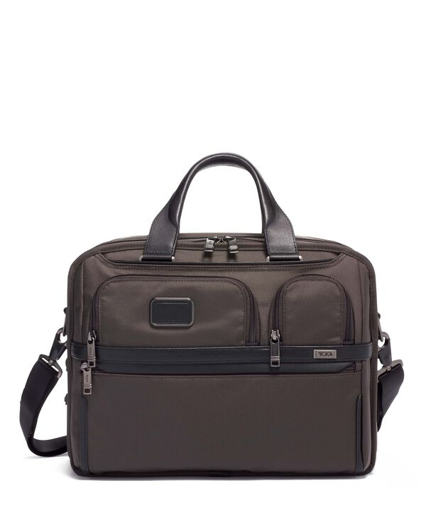 Alpha 3 Expandable Organizer Laptop Brief