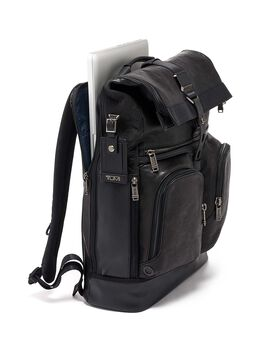Skórzany plecak Roll Top London Alpha Bravo